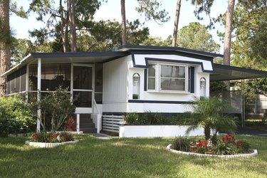 Single wide mobile home