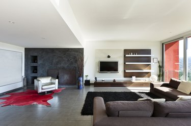 modern style, living room