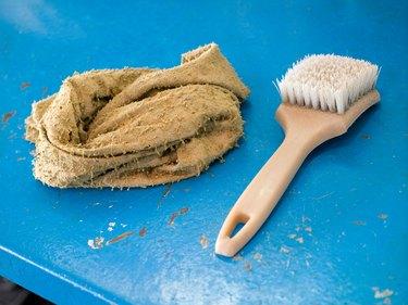 Brush and rag