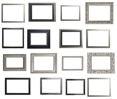 Silver and Black Landscape Frame Multiple Selection