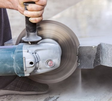 cutting hard stone grinder