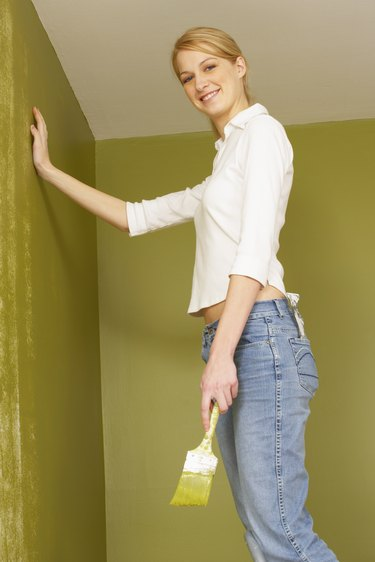 How to Fix a Bad Paint Job Where the Ceiling Meets the Wall
