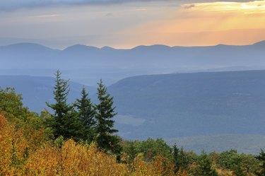 Mountain Autumn View