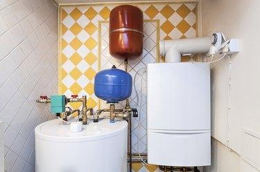 Vintage mansion - boiler room