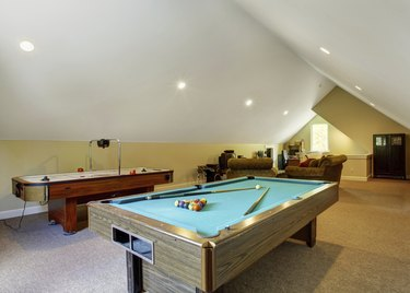 Velux entrertainment room interior