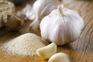 Garlic salt, organic vegetable
