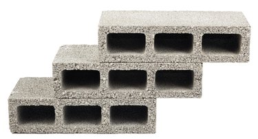 Isolated Construction Blocks - Three