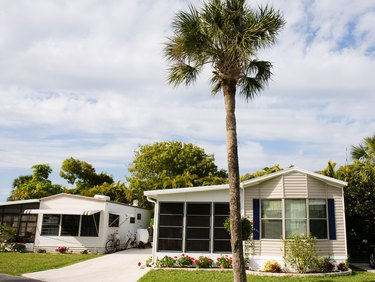 Mobile Home Retirement Community, Florida