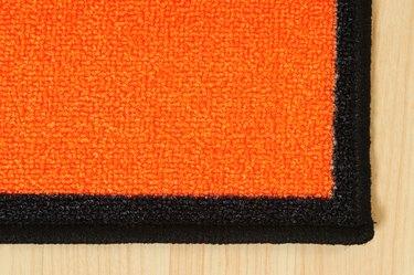 Carpet edge.