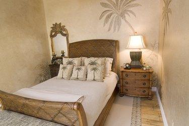 Tropical Rattan Bedroom