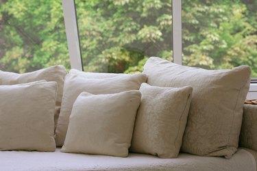Lot of cushion