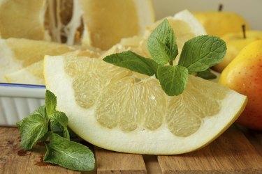 Slice of Pomelo