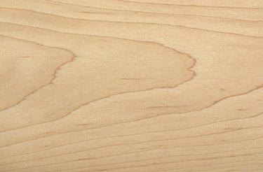 unfinished sample of Soft Maple wood