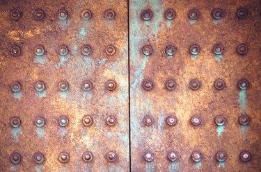 oxidation on metal