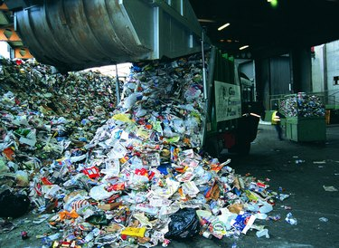 Recycling plant,UK