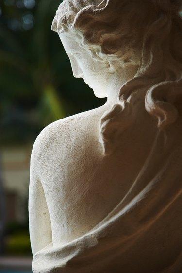 Decorative statue outdoors