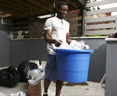 Recycling at urban home