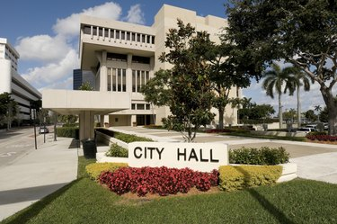 City Hall in West Palm Beach