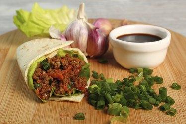 Asian Beef Tortilla