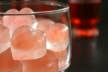 Heart Ice Cubes