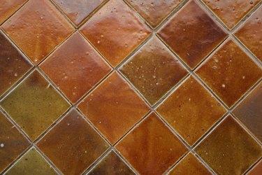 Background of ceramic tiles