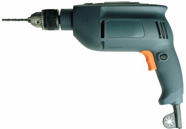 an electric power drill