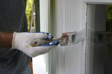 Painting House Windows