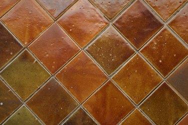 Decorative tile surface