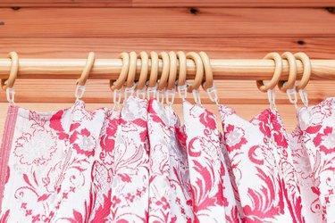 Curtain plastic rings