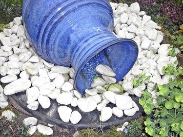 Der Gartenbrunnen