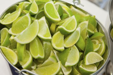 Bucket of Limes