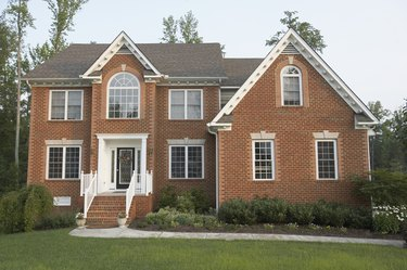 Traditional Style Brick Home