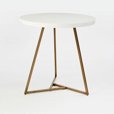 west elm cafe table