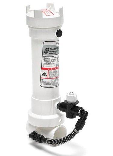 A Pentair 320 chlorinator.