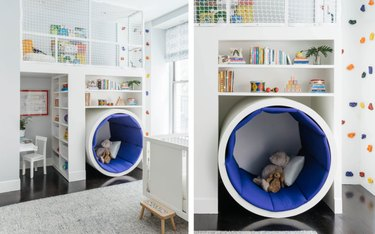 playroom tunnel