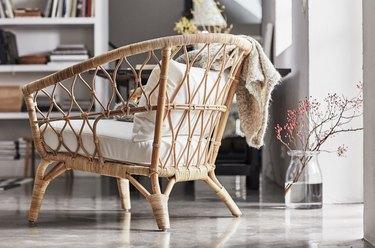 ikea rattan stockholm chair