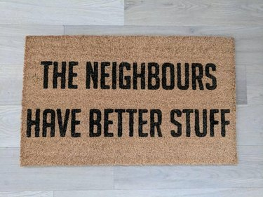 thief doormat