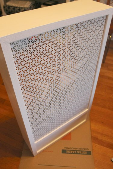 finished radiator cover