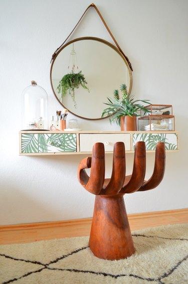 bohemian dressing table