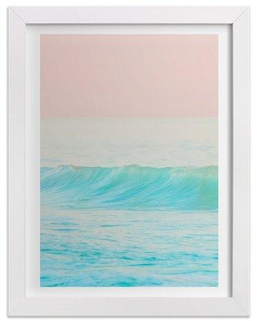 print of the ocean