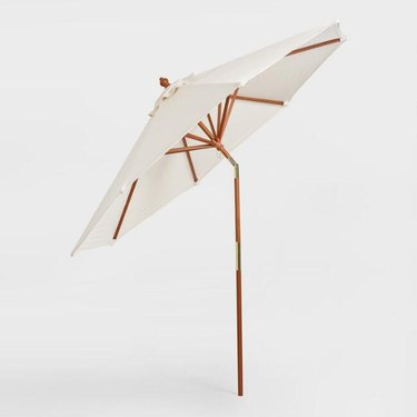 Brown Tilting Umbrella