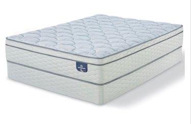Queen-sized mattress.