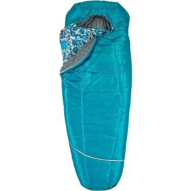 sleeping bag with flower insert