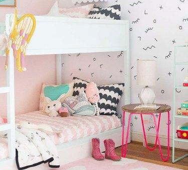 IKEA kura bed frame hack
