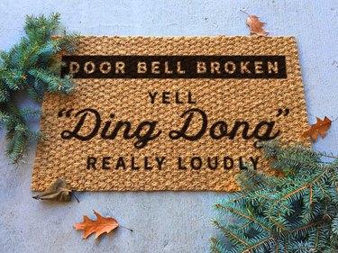 comedy doormat