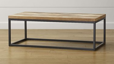 Crate and Barrel Dixon coffee table.