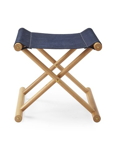 denim stool