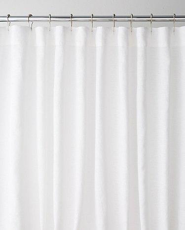 Eileen Fisher Linen Shower Curtain