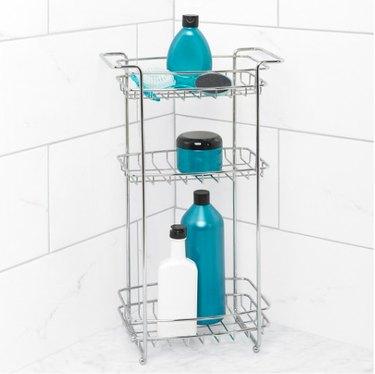 standing shower storage.