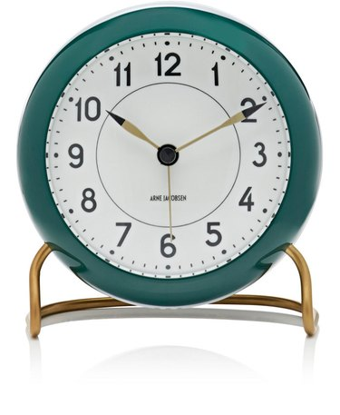 Carl Mertens Station Table Alarm Clock